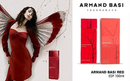Armand Basi in Red edp adv