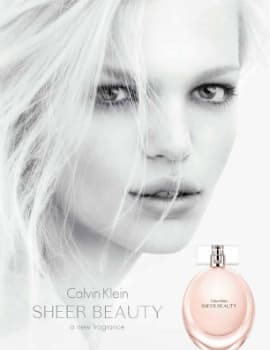 Calvin Klein Sheer Beauty adv