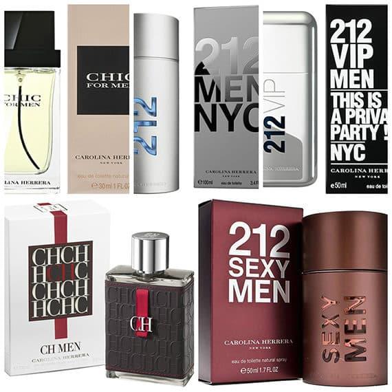 Притягательные мужские ароматы от Carolina Herrera
