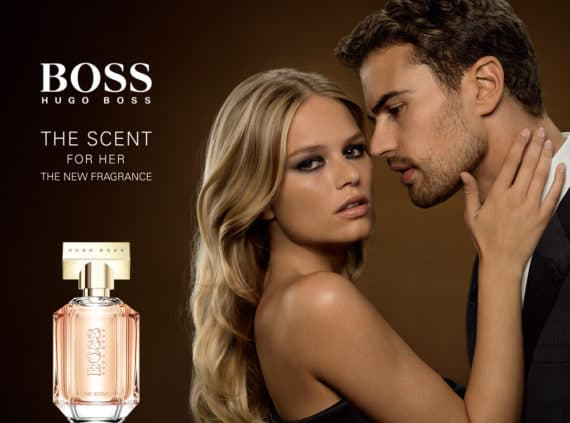 Сила равноправия. Hugo Boss The Scent For Her